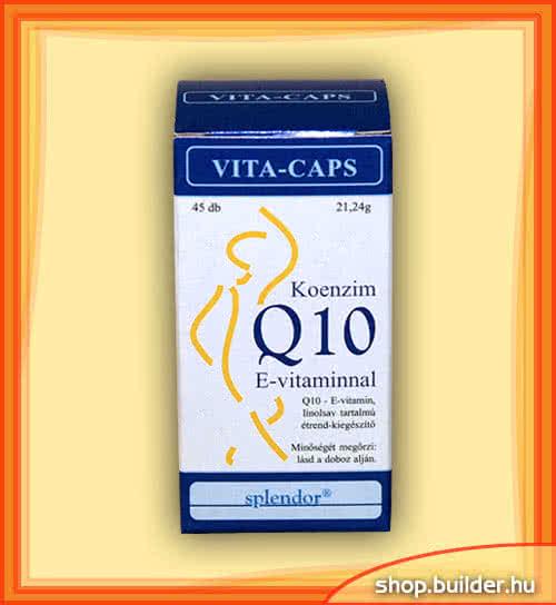 Splendor Koenzim Q10 E-vitaminnal 45 kap.