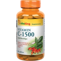VitaKing Vitamin C-1500 with Rosehips (60 tab)
