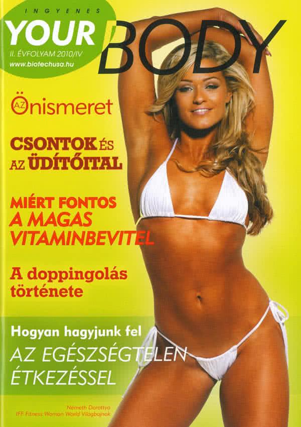 Könyvek/Magazinok Your Body 2010/4.