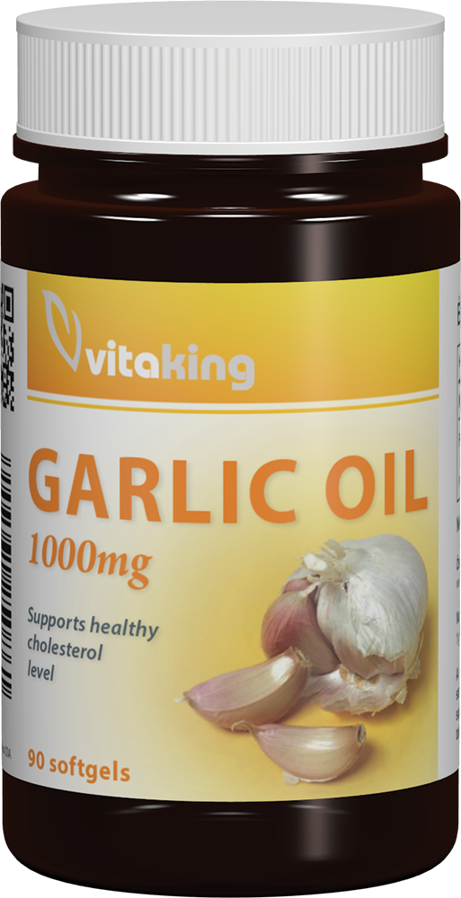 VitaKing Garlic Oil (1000 mg) 90 g.k.