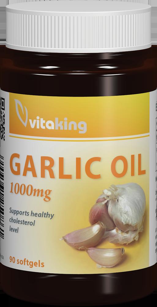 VitaKing Garlic Oil (1000 mg) 90 g.k.
