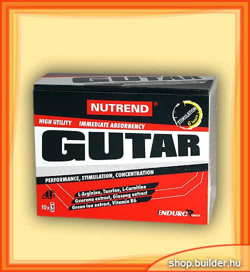 Nutrend Gutar 10x25 ml.