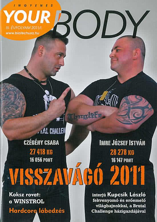 Könyvek/Magazinok Your Body 2011/1.