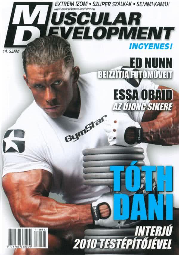 Könyvek/Magazinok Muscular Development 14.