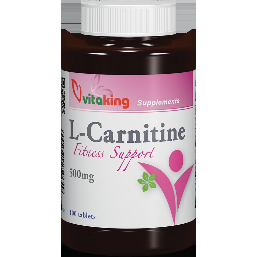 VitaKing L-Carnitine Fitness Support 100 tab.