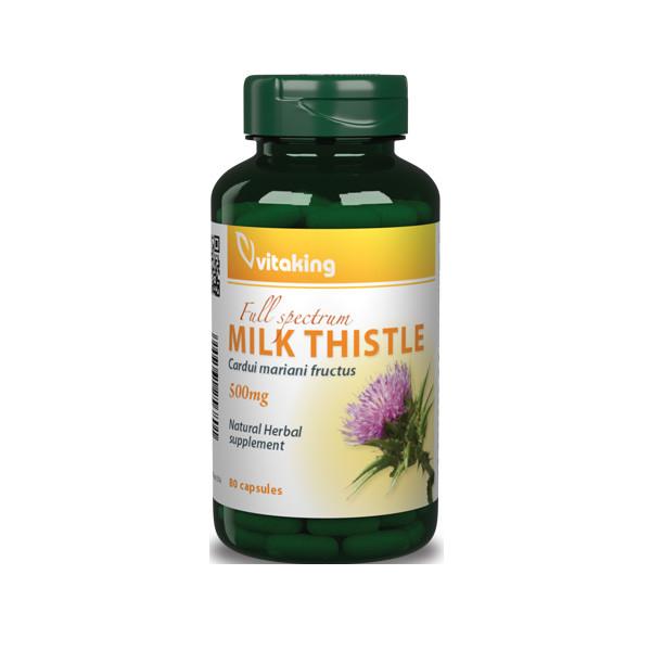 VitaKing Milk Thistle 80 kap.