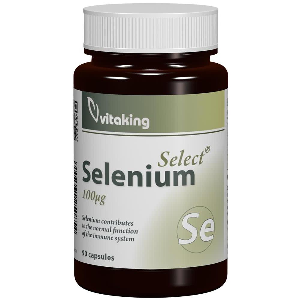 VitaKing Selenium 90 kap.