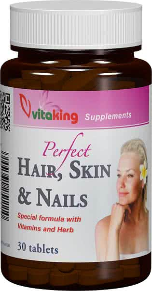 VitaKing Hair, Skin & Nails 30 tab.