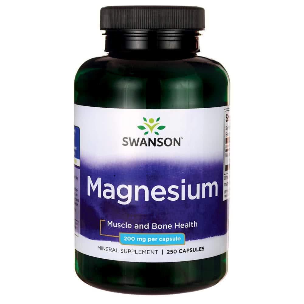 Swanson Magnesium 250 kap.