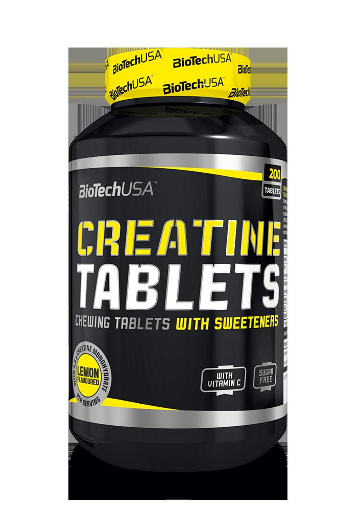 BioTech USA Creatine Tablets 200 r.t.
