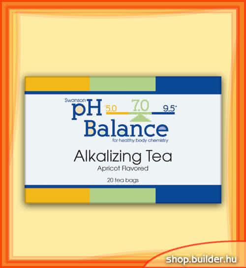 Swanson pH Balance lúgosító tea 20 tasak