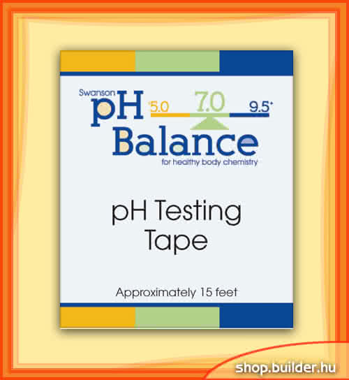 Swanson pH tesztcsík 4,5 m