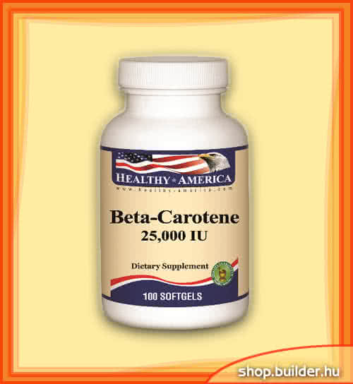 Healthy America Beta Carotene 100 g.k.