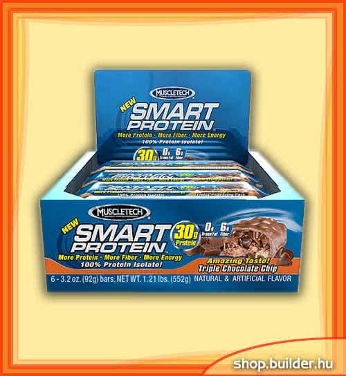 MuscleTech Smart Protein Bar 6x92 g