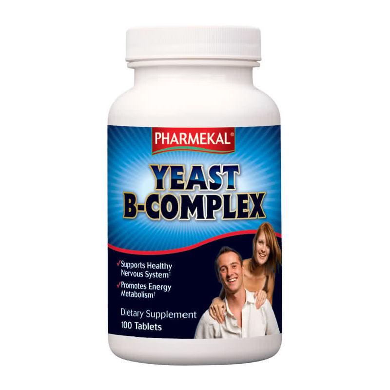 Pharmekal Yeast B-Complex 100 tab.