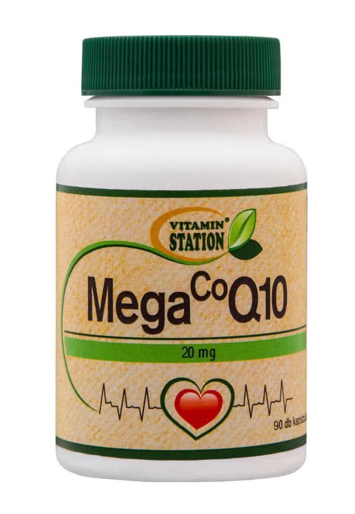 Vitamin Station Coenzyme Q10 (20 mg) 90 kap.