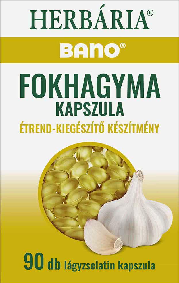 Bano Bánó Fokhagyma kapszula 90 kap.