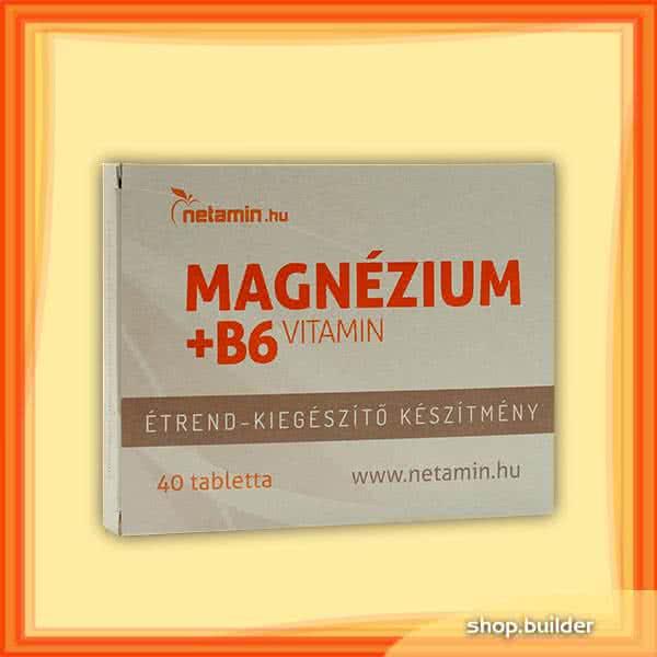 Netamin Magnézium + B6 vitamin 40 tab.