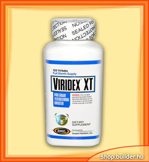 Gaspari Nutrition Viridex XT 120 tab.