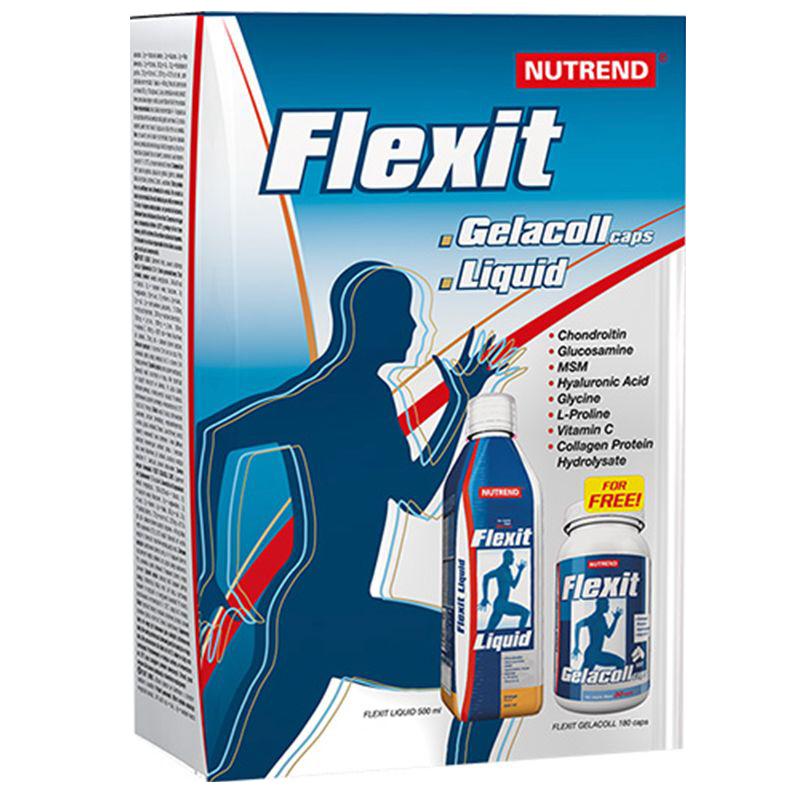 Nutrend Flexit Liquid + Gelacoll ízületvédő csomag szett