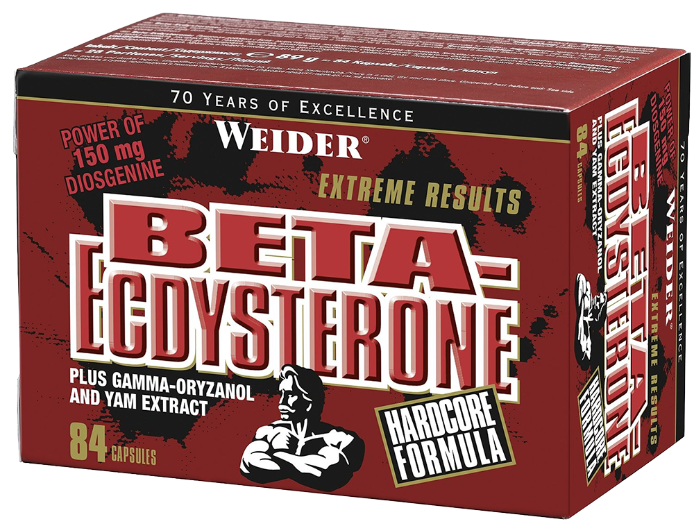 Weider Nutrition Beta-Ecdysterone 84 kap.