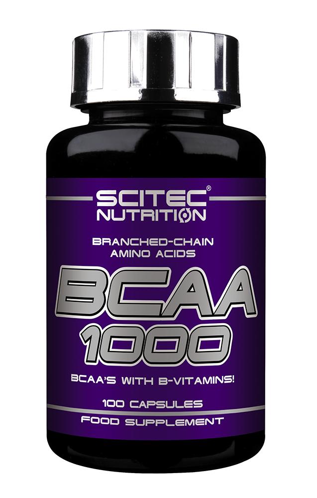 Scitec Nutrition BCAA 1000 100 kap.