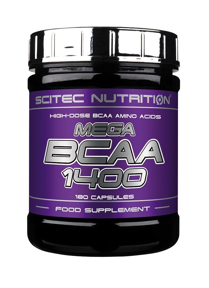 Scitec Nutrition Mega BCAA 1400 180 kap.