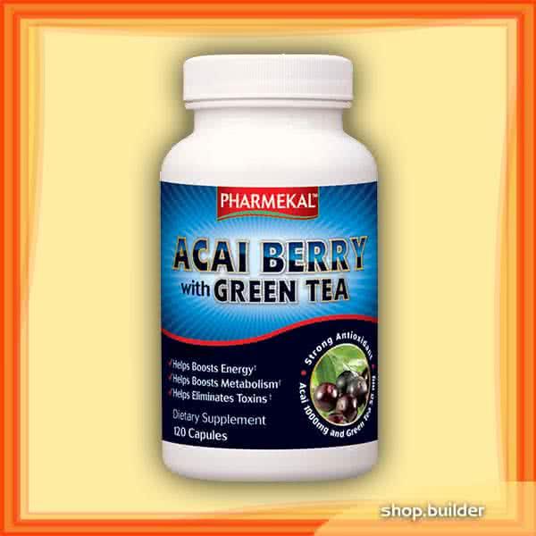 Pharmekal Acai Berry With Green Tea 120 kap.
