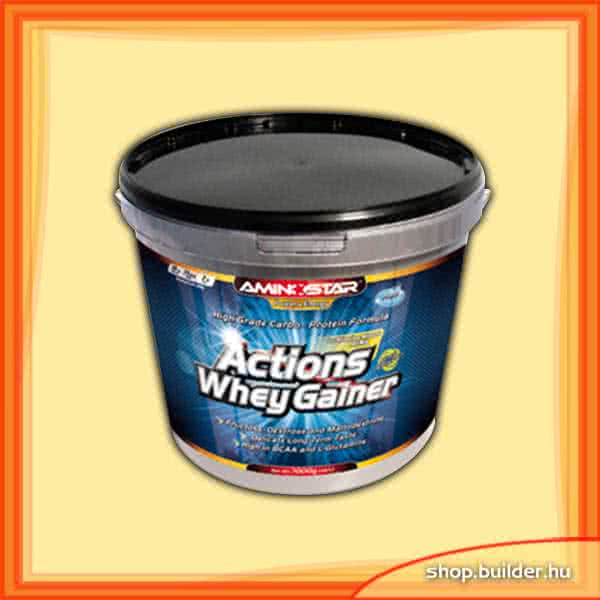 AminoStar Actions Whey Gainer 7 kg