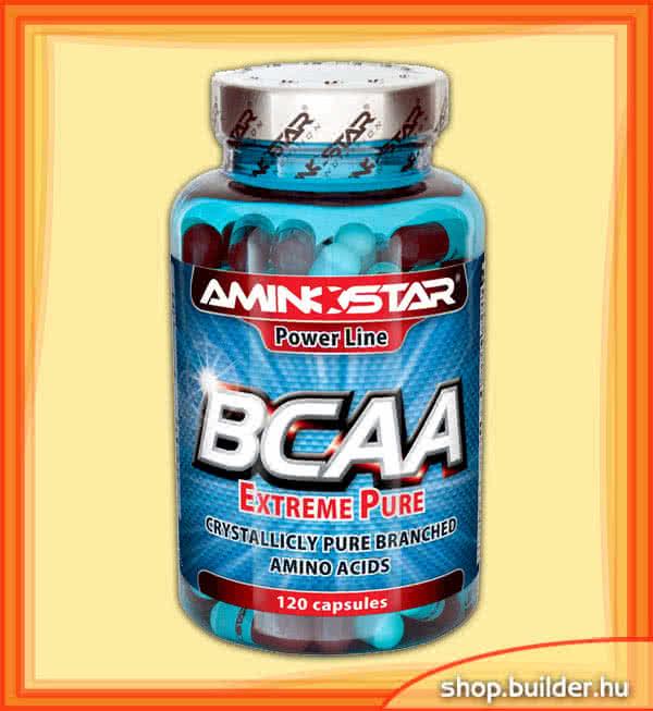 AminoStar BCAA Extreme Pure 120 kap.