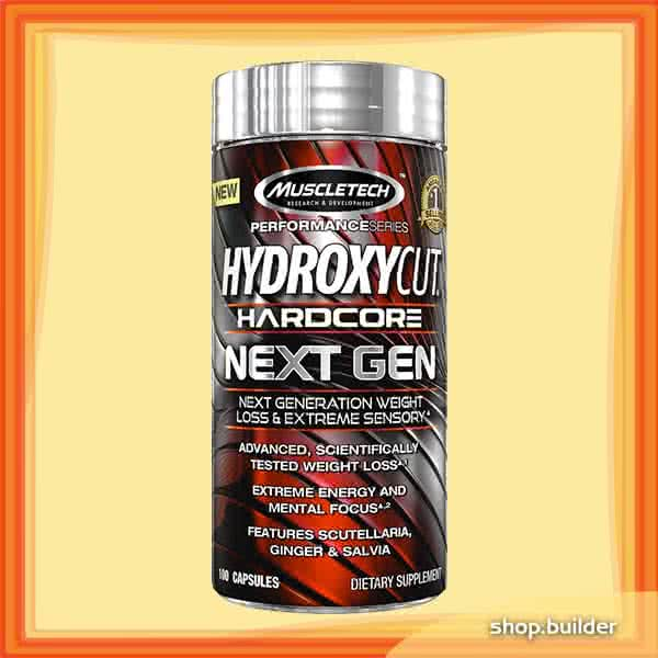 MuscleTech Hydroxycut Hardcore Next Gen 100 kap.