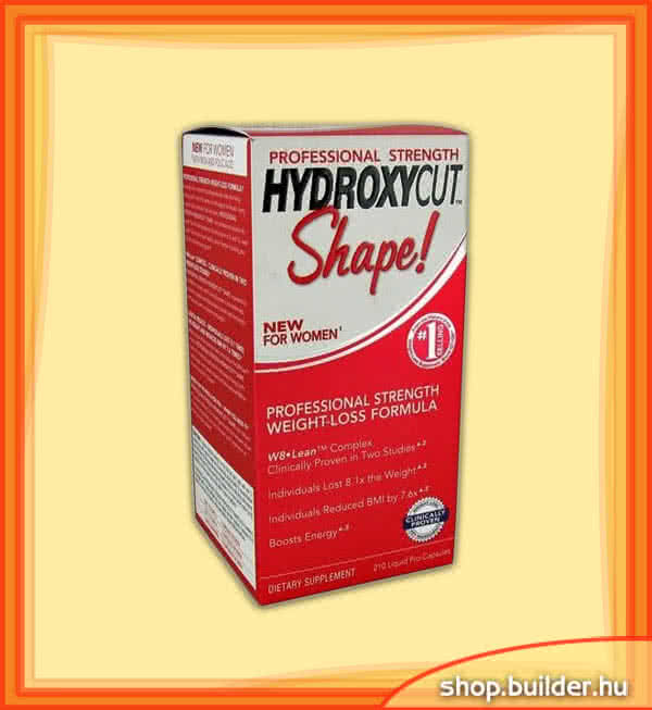 MuscleTech Hydroxycut Shape 210 kap.
