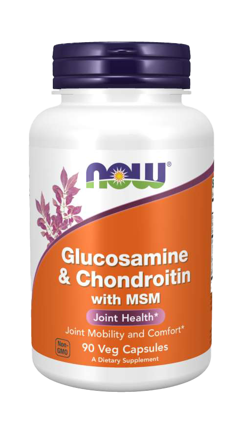 Now Foods Glucosamine & Chondroitin with MSM 90 kap.