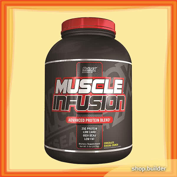 NutreX Research Muscle Infusion 2,268 kg