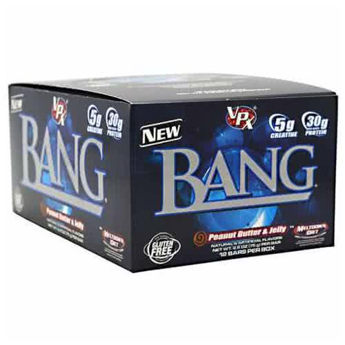 VPX Supplements Bang Creatine Bar 12x75 g