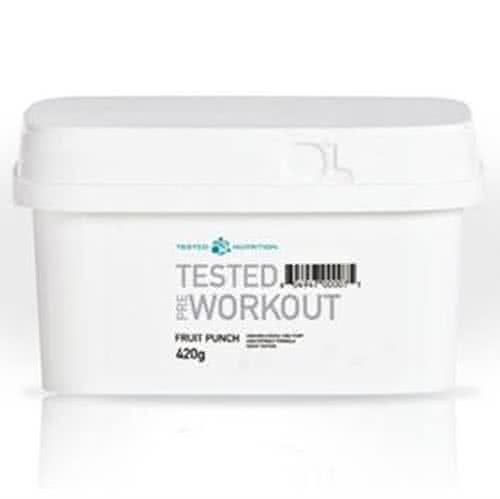 Tested Nutrition Tested Pre-Workout 420 gr.