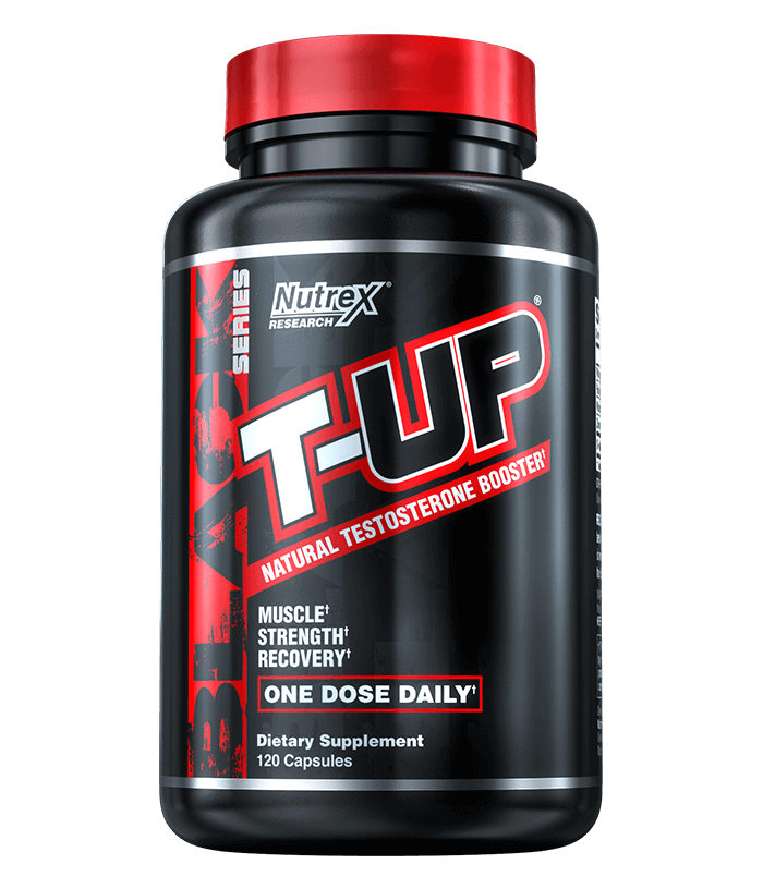 NutreX Research T-Up Black 120 kap.