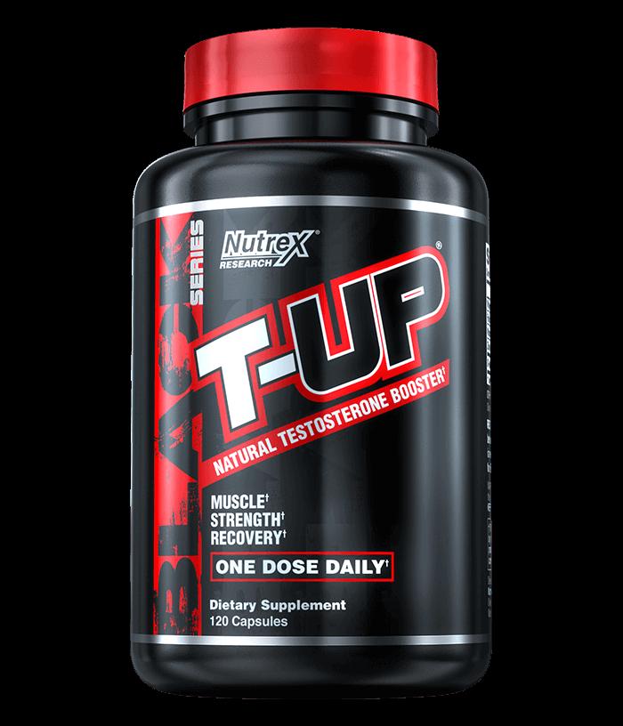 NutreX Research T-Up Black 120 kap.