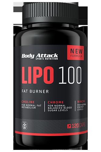 Body Attack Lipo 100 120 kap.