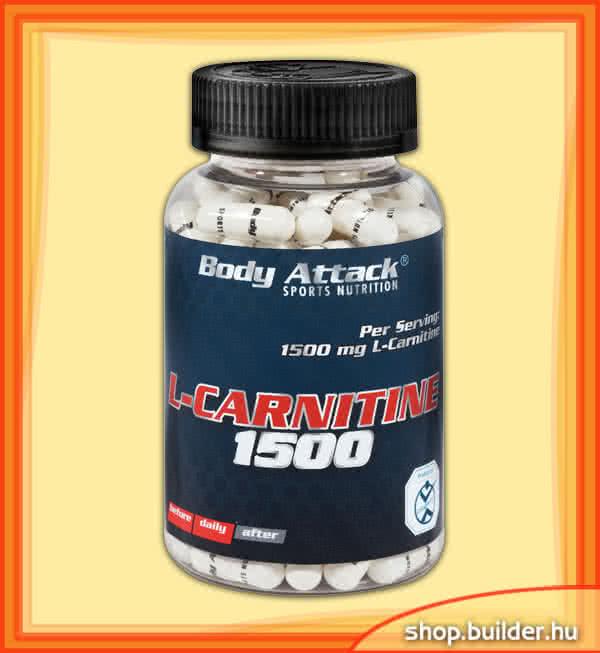 Body Attack L-Carnitine 1500 100 kap.