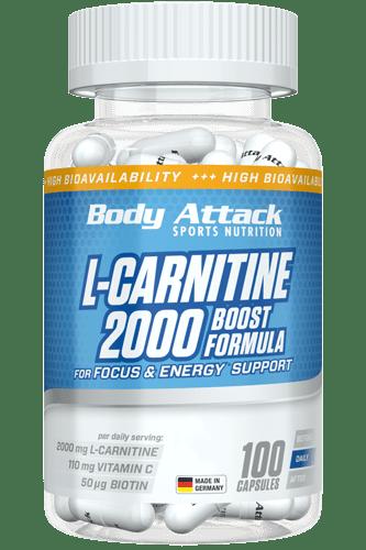 Body Attack L-Carnitine 2000 100 kap.