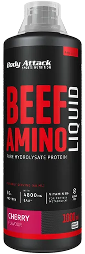 Body Attack 100% Beef Amino Liquid 1 lit.