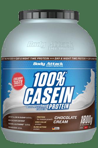 Body Attack 100% Casein 1,8 kg