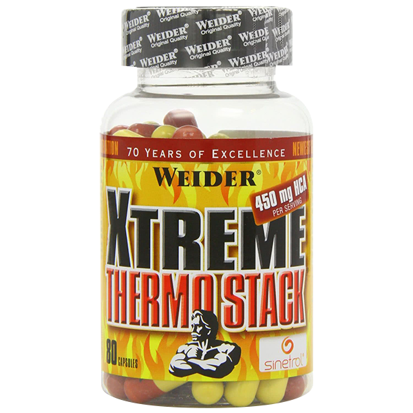 Weider Nutrition Xtreme Thermo Stack 80 kap.