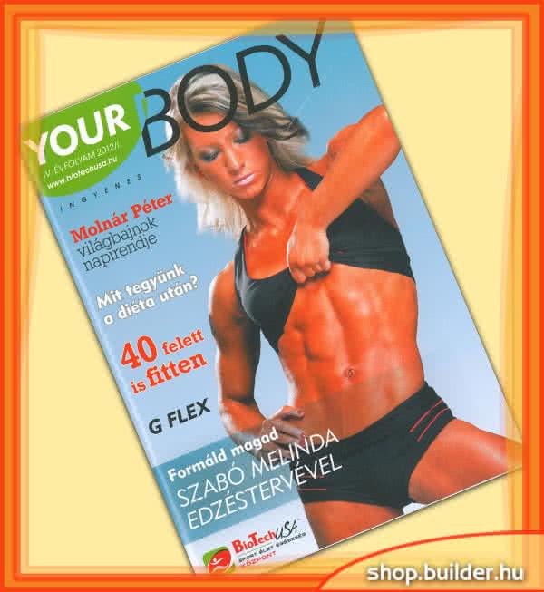 Könyvek/Magazinok Your Body 2012/I.