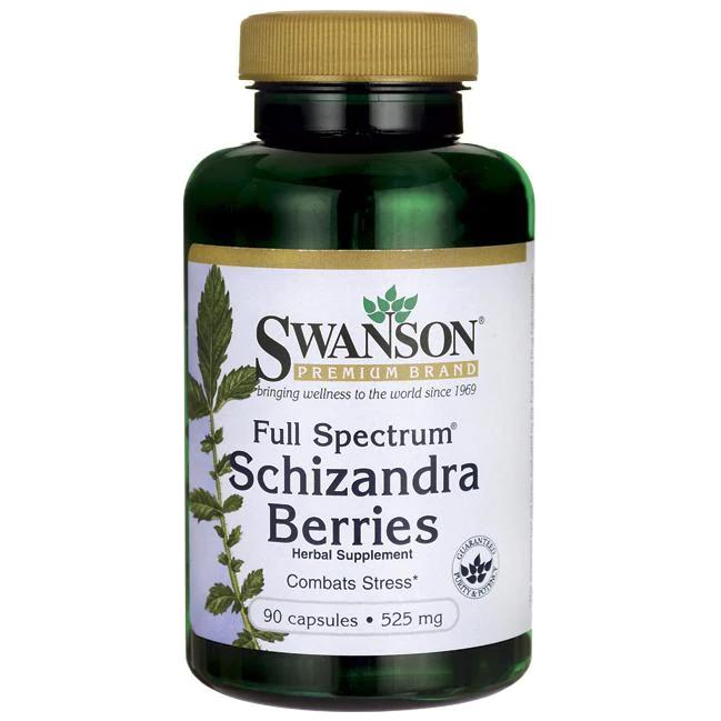 Swanson Schizandra Extract 60 kap.