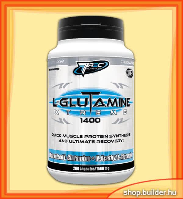 Trec Nutrition L-Glutamine Xtreme 1400 200 kap.