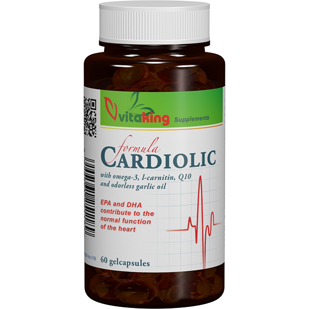 VitaKing Cardiolic Formula 60 g.k.