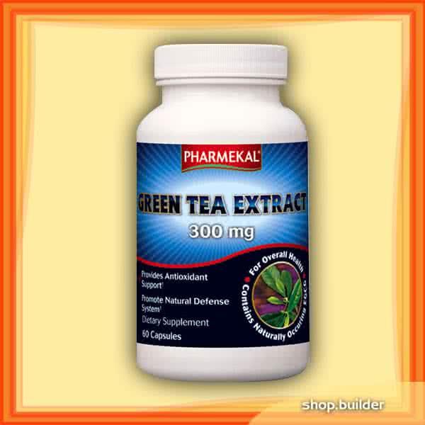 Pharmekal Green Tea Extract 300 mg 60 kap.