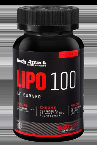 Body Attack Lipo 100 60 kap.